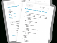 12 Free Meeting Agenda Templates Template For An Agenda For A Meeting Example