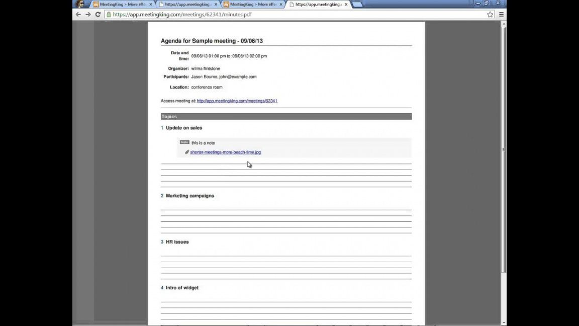 Meeting Agenda And Meeting Minutes Templates Template For Meeting Agenda And Minutes