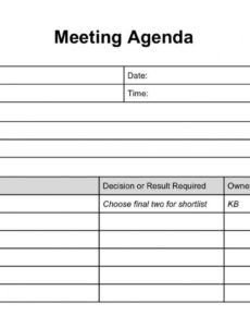 printable formal documents  meeting agenda template agenda template template for meeting agenda and minutes pdf