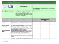 Printable Template Of Meeting Minutes  Meeting Minutes Template For Meeting Agenda And Minutes Word