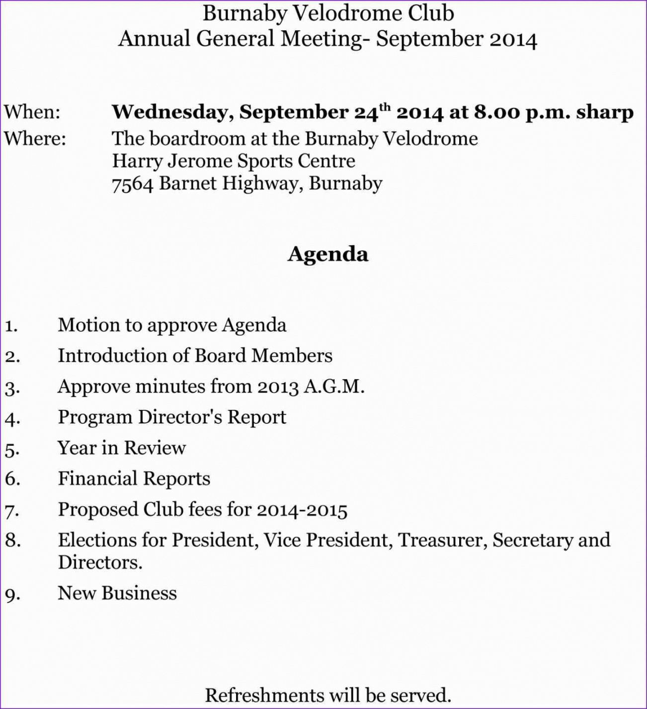 editable 34 the best club agm agenda template for ms word with club dental office meeting agenda template excel