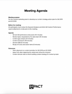 editable sample the only meeting agenda template you'll ever need sample agenda template for meetings excel