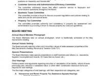 Printable Board Meeting Agenda Template  California Free Download Sample Board Meeting Agenda Template Sample