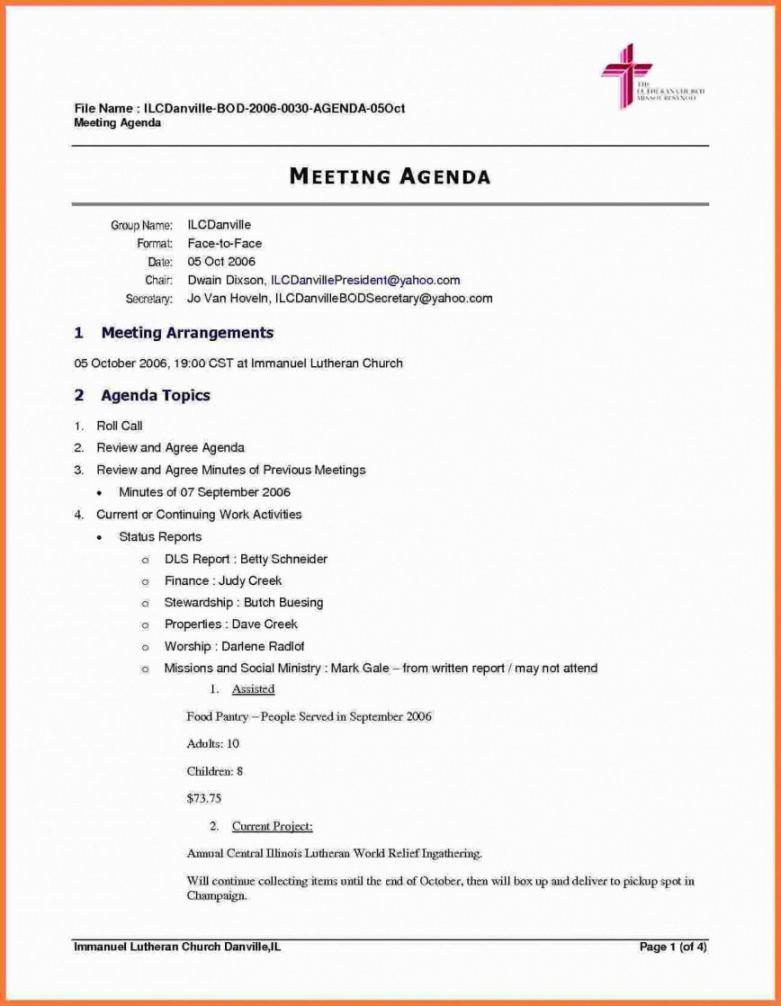 printable sample meeting agenda template ~ addictionary template for business meeting agenda excel