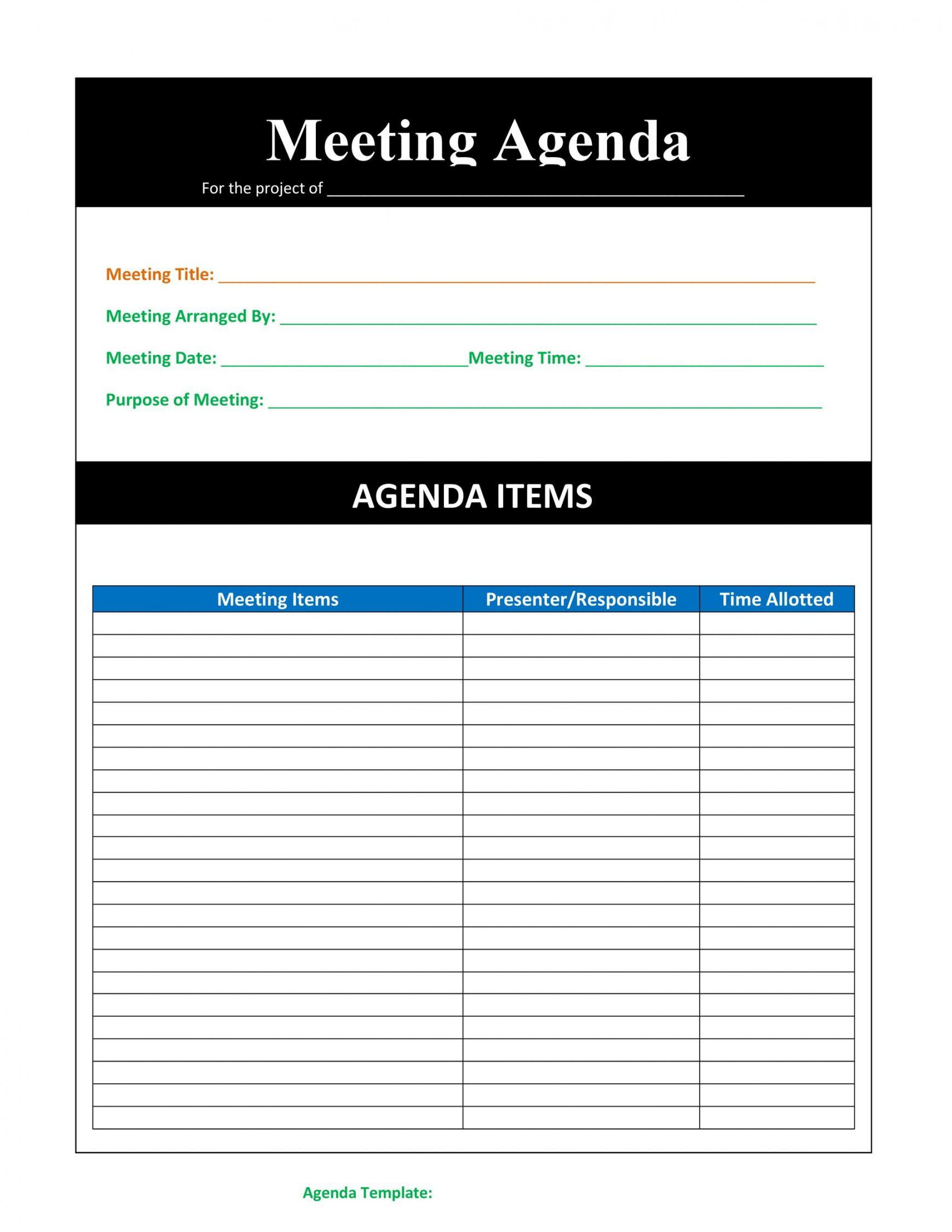 sample 46 effective meeting agenda templates ᐅ templatelab word agenda template free download sample