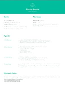 sample how to create a meeting agenda  xtensio create a meeting agenda template pdf