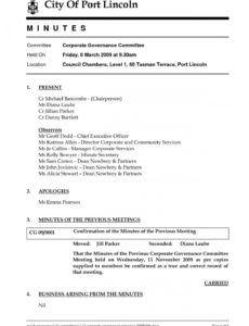 12 informal meeting minutes sample  radaircars for informal meeting agenda template