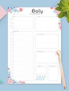 editable daily hourly planner templates  download pdf hourly agenda template pdf
