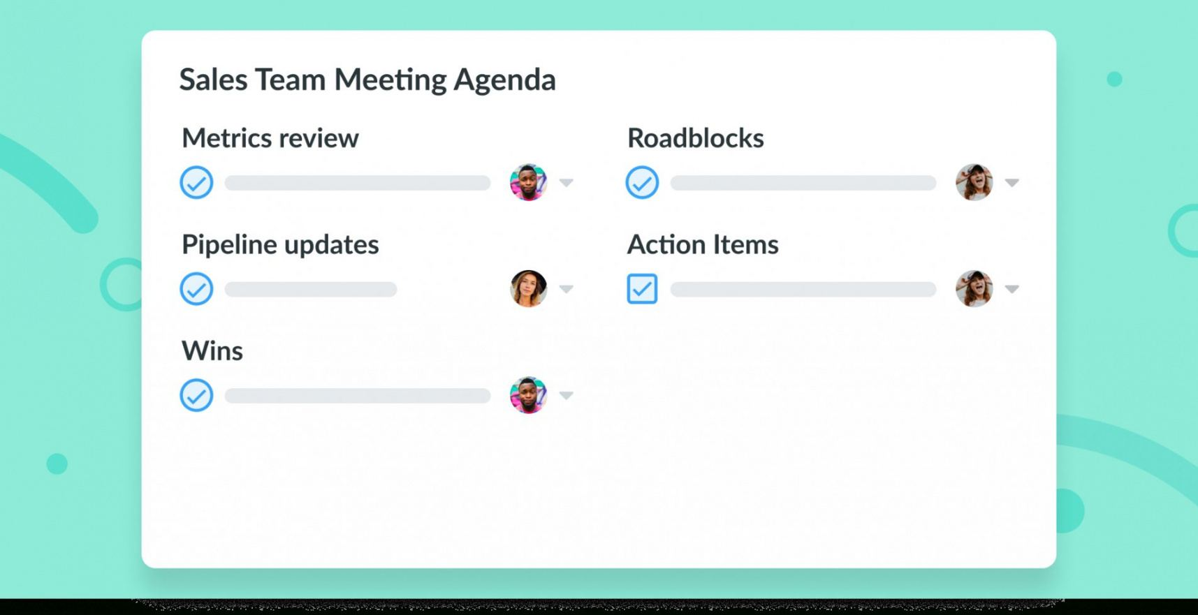 editable sales meeting agenda 5 topics amp ideas to improve fun meeting agenda template excel