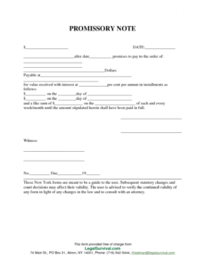 free free template  notes template promissory note template free generic promissory note template doc