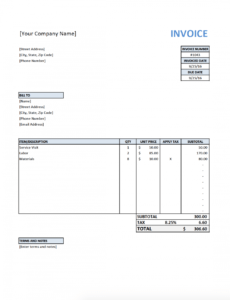 free invoice template for contractors electrician electrician estimate template sample