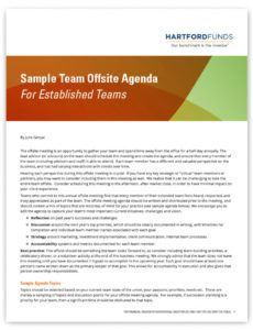 free sample team offsite agenda for established teams offsite agenda template sample