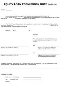 sample 38 free promissory note templates  forms word  pdf promissory note template for personal loan example