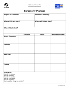 sample pin on girl scout ideas scout committee meeting agenda template