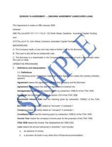 sample promissory note  free template  sample  lawpath australian promissory note template doc
