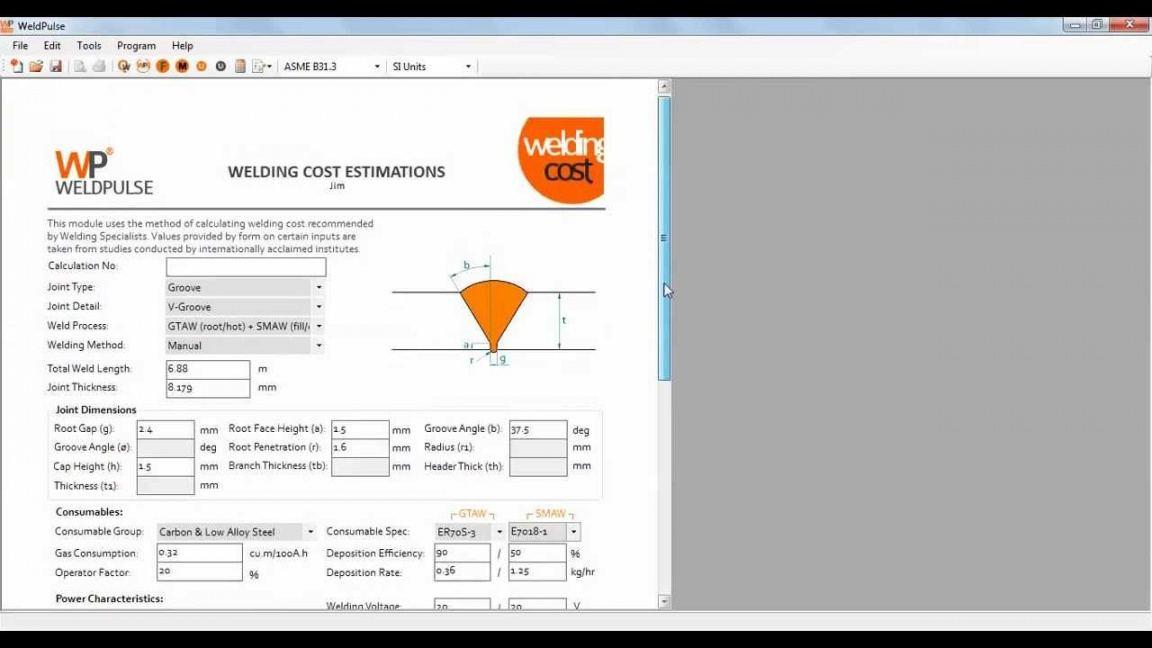 sample welding estimates templates  google search  estimate welding estimate template pdf