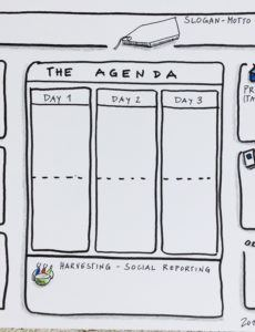 the workshop agenda shaper  a template for a visual workshop agenda template excel