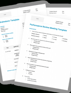 12 free meeting agenda templates conference agenda template example
