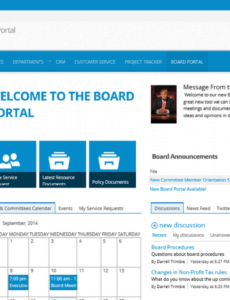 editable board portal template for office 365 sharepoint  new site sharepoint agenda template