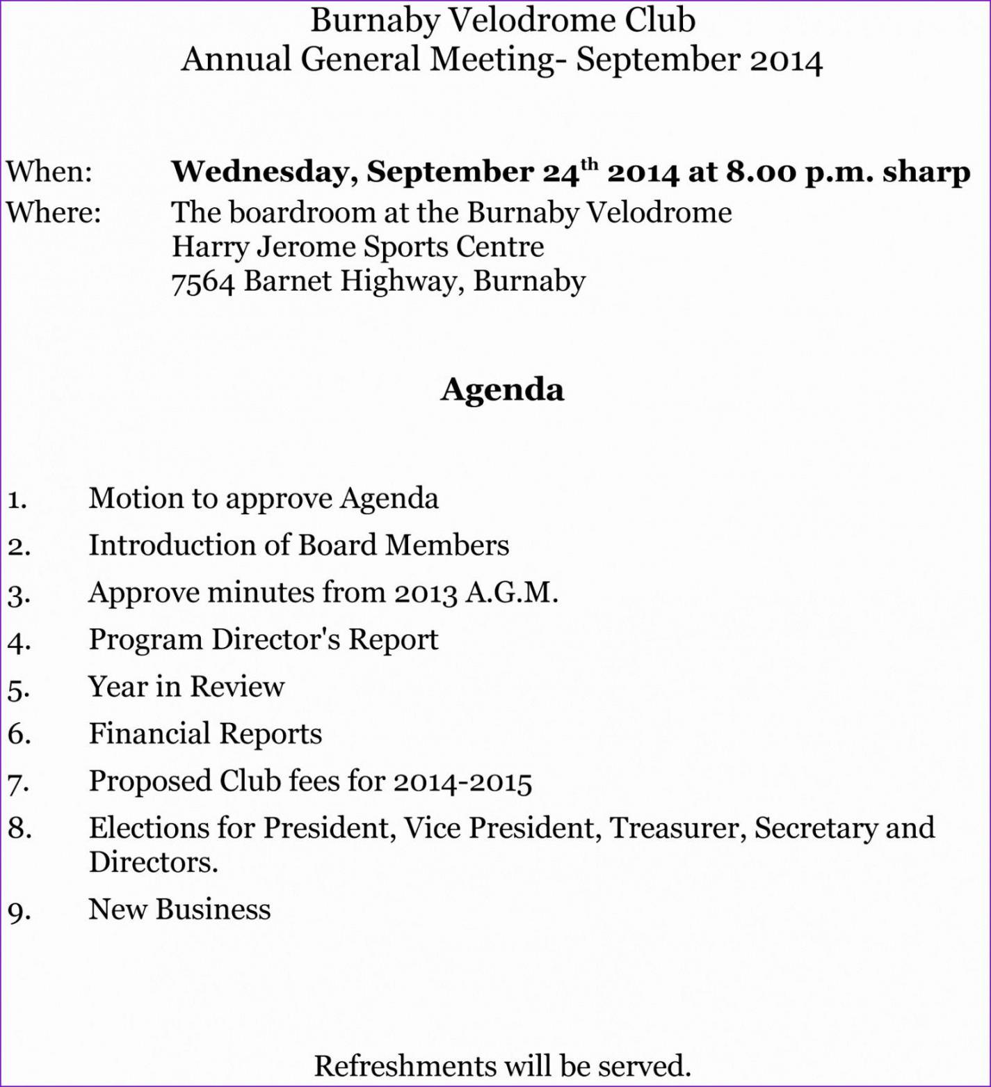 free free aaic49 hd free agm agenda items clipart pack 4959 annual board meeting agenda template sample