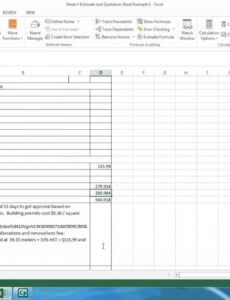 free how to estimate the cost of your deck  estimating deck cost deck estimate template excel