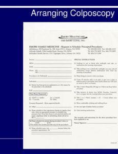 free ppt  colposcopy powerpoint presentation free download  id colposcopy procedure note template doc