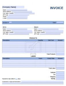 printable 37 visiting computer repair invoice template formating with computer repair estimate template word