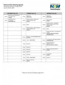 printable sale meeting agenda template ~ addictionary sales meeting agenda template word