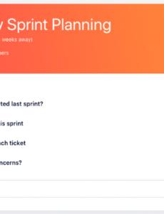 printable sprint planning meeting agenda template  agenda template planning session agenda template excel