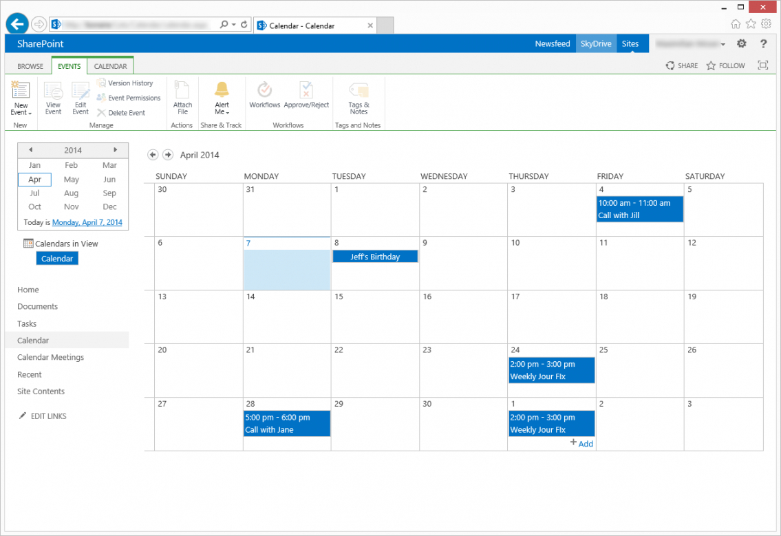 sample invite attendees from sharepoint calendar sharepoint agenda template example