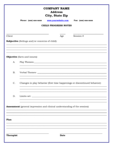 sample psychotherapy progress notes template  invitation templates group therapy note template word