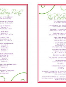 sample wedding itinerary templates free  wedding reception wedding reception agenda template example
