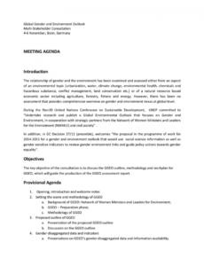 editable meeting agenda introduction objectives provisional introduction meeting agenda doc