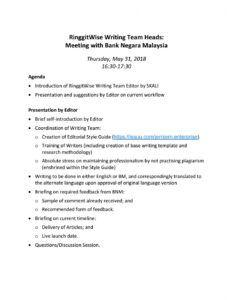free iifin  bnm meeting agenda and presentation by jernjern introduction meeting agenda pdf