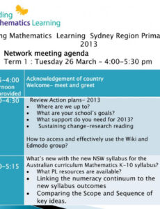 free ppt  network meeting agenda term 1  tuesday 26 march  4 meet and greet meeting agenda excel