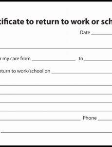 Best Return To School Note  Example