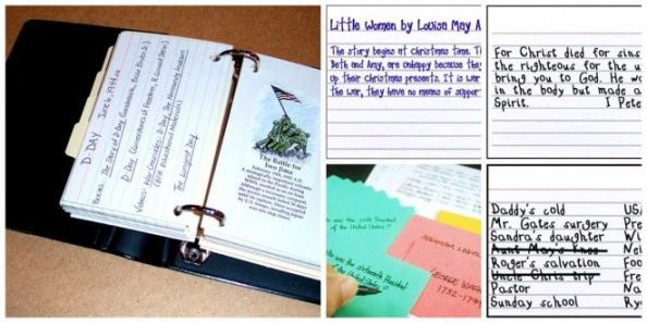 Editable 5X8 Note Card Template Word Example