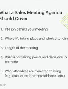 Editable Annual Sales Meeting Agenda Ideas Pdf Sample