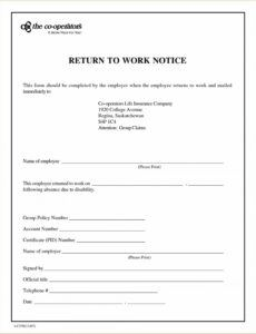 Printable Dr Sick Note Template  Example