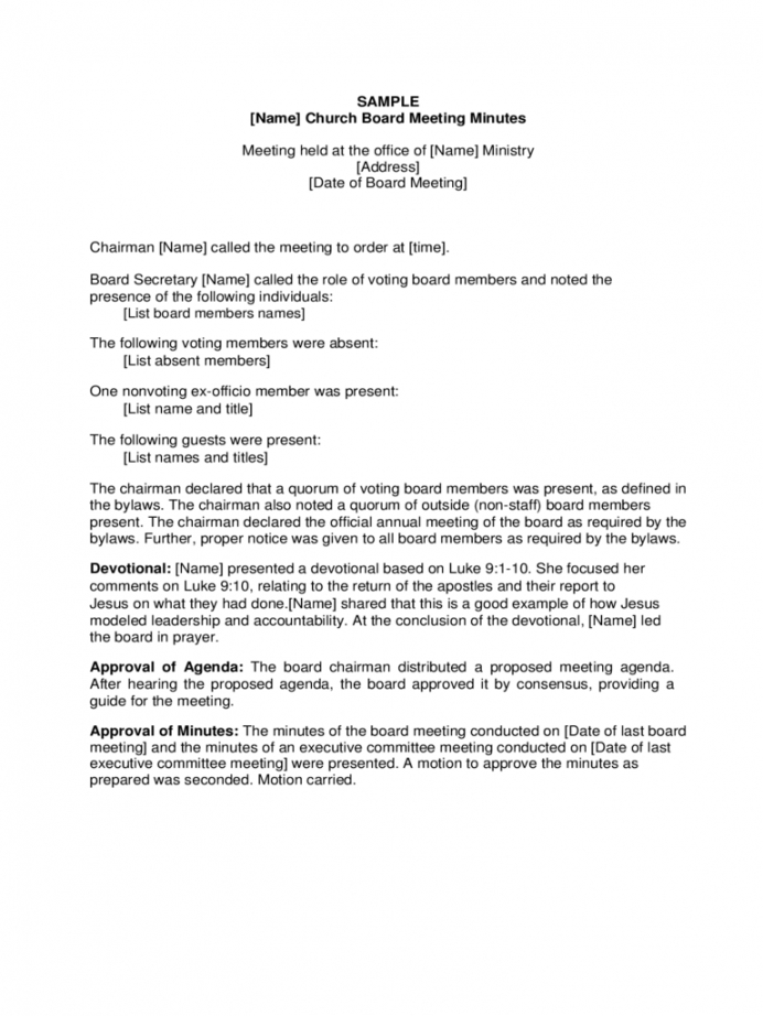 Professional Safety Committee Meeting Agenda And Minutes Doc Sample