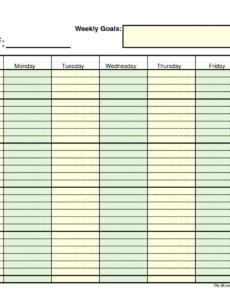 Professional Work Agenda Planner Pdf Example