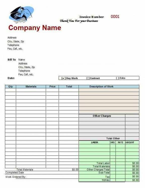Best Auto Body Repair Estimate Template Excel Sample