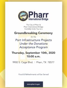 Costum Groundbreaking Ceremony Agenda Pdf Sample