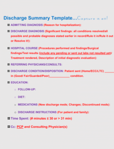 Editable Outpatient Psychiatric Progress Note Template Excel Example