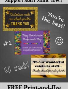 Printable Thank You Note For Volunteering At School Pdf Sample