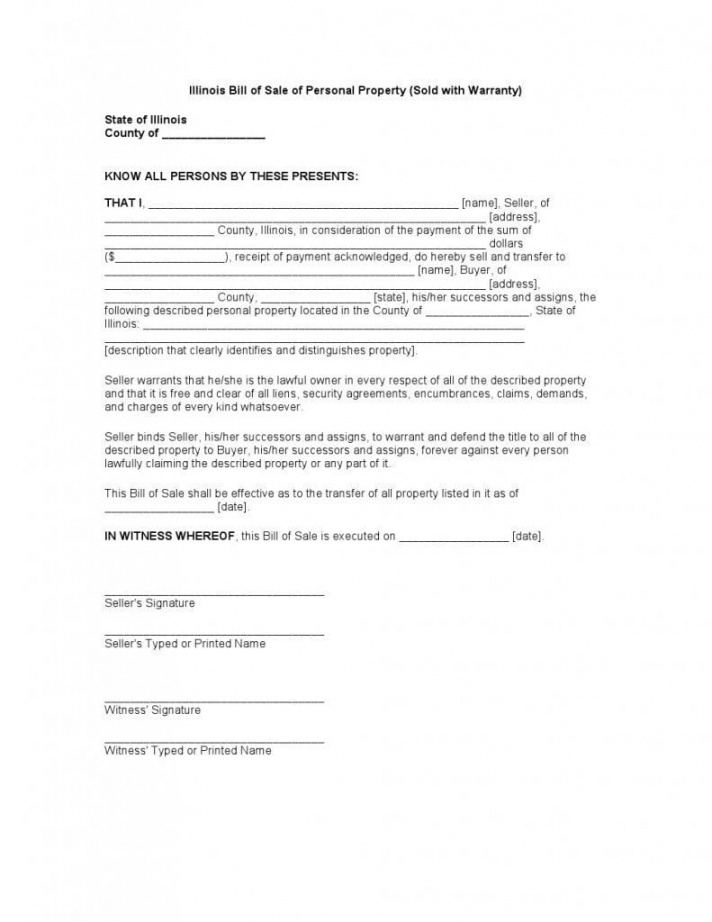 Editable Bill Of Sale Business Assets Template Doc Sample