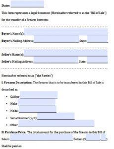 Printable Bill Of Exchange Template Excel Sample