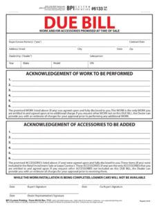 Best General Bill Of Lading Template Doc