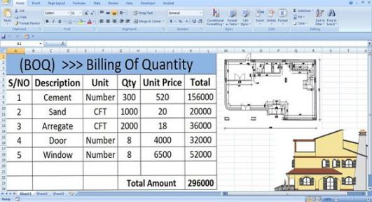 Printable Engineering Bill Of Materials Template Word Sample