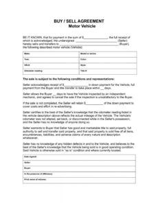 Professional Private Car Bill Of Sale Template Excel Sample